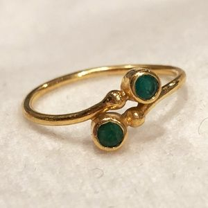 Jewelry - Emerald in 14kt Gold Ring